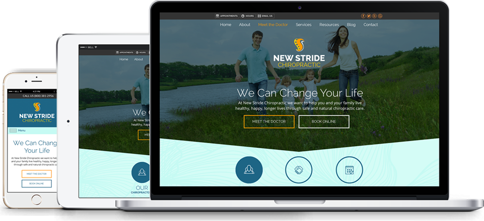 New Stride Website
